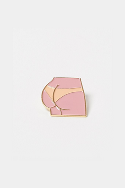 CouCou Suzette Sunburn Lapel Pin CouCou Suzette is available in Brisbane Queensland Australia at Violent Green store #coucousuzette #coucousuzettedealer #coucousuzettebrisbane #coucousuzettequeensland #coucousuzetteaustralia #coucousuzettestockist #lapelpins #patches #irononpatches #pins #buttons #socks #noveltysocks #frenchdesigner