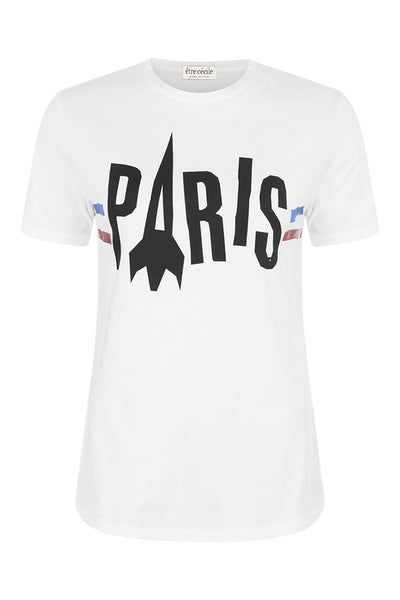 Etre Cecile Paris Rocket T-shirt White