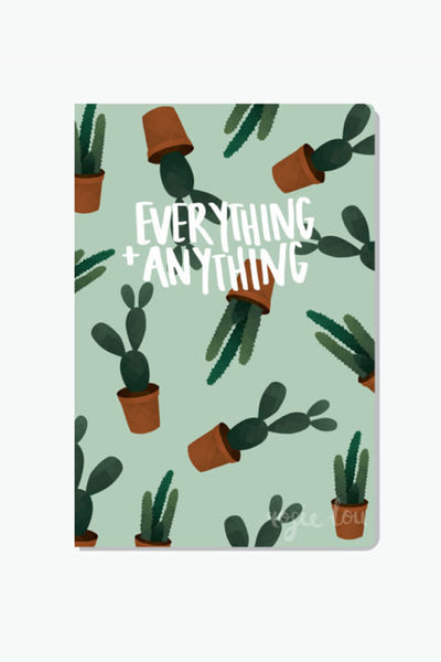 Rosie Lou Everything + Anything Cactus Notebook