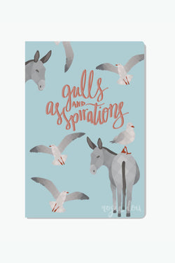 Rosie Lou Gulls And Asspirations Notebook