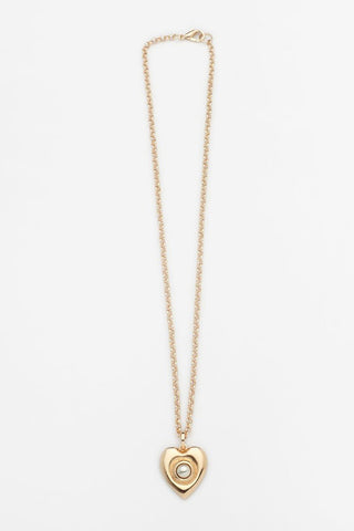 Reliquia Heart Of Gold Necklace Small - Gold