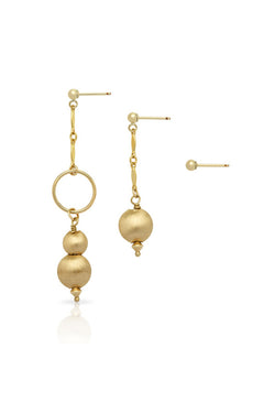 Petite Grand Helena Earrings Gold