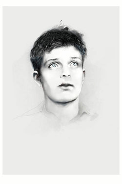 And Lizzy Ian Curtis Joy Division Print