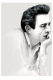 And Lizzy Johnny Cash Print