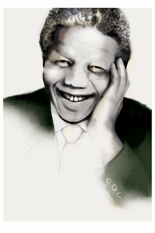 And Lizzy Nelson Mandela Print