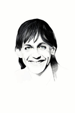 And Lizzy Iggy Pop The Stooges Print
