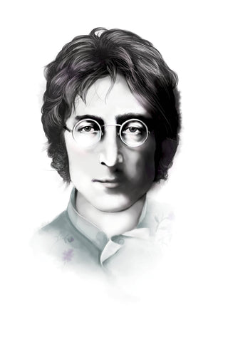 And Lizzy John Lennon- The Beatles Artwork And Lizzy artwork is available in Brisbane Queensland Australia at Violent Green Albert Street store