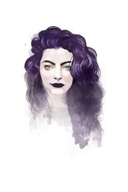 And Lizzy Lorde - Pure Heroine Artwork