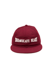 Born x Raised Immaculate Heart Snapback - Burgundy