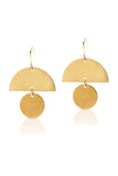Petite Grand Lunatic Earrings Gold