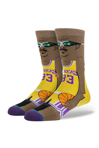 STANCE Kareem Cartoon Mens Socks available in Yellow