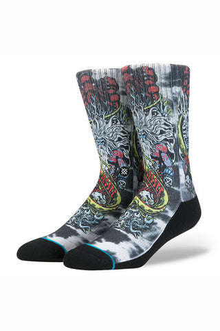 STANCE POSEIDON REDUX SOCK available in WHITE