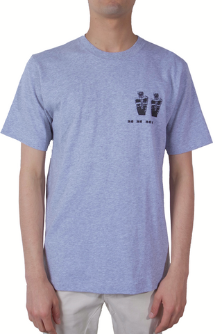 PERKS AND MINI Magiz Short Sleeve Tee Grey Marle