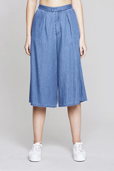 NATIVE YOUTH Denim Culotte Mid Wash