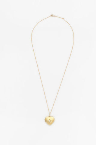 Reliquia Open Heart Necklace - Gold