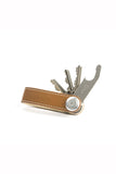 ORBITKEY TAN WITH WHITE STITCHING LEATHER