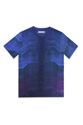 COCURATA LIMITED EDITION POLYPHASIC TEE available in POLYPHASIC PRINT