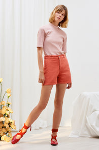 Kowtow Ray Shorts - Peach Cord