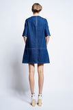 KAREN WALKER Sokol Panel Dress available in Indigo