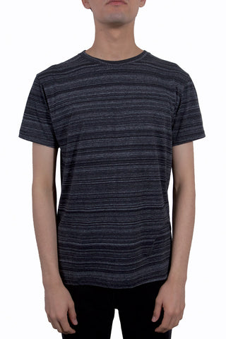 CHEAP MONDAY Standard Tee Black Space Melange