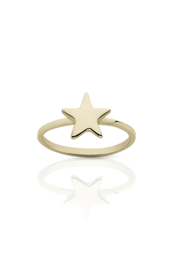 MEADOWLARK STAR STACKER RING available in GOLD