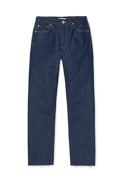 Carhartt W' Page Carrot Ankle Pant R.E. - Blue Rinsed