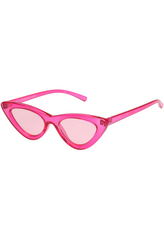 Adam Sleman x Le Specs The Last Lolita Sunglasses available in Crystal Hot Pink with Pink Flash Mirror Le specs is available in Brisbane Queensland Australia at Violent Green Store #lespecs #lespecsdealer #lespecsstockist #lespecsbrisbane #lespecsqueensland #lespecsaustralia #lespecssunglasses #lespecseyewear #sunglasses #adamselman #selfportrait #henryholland