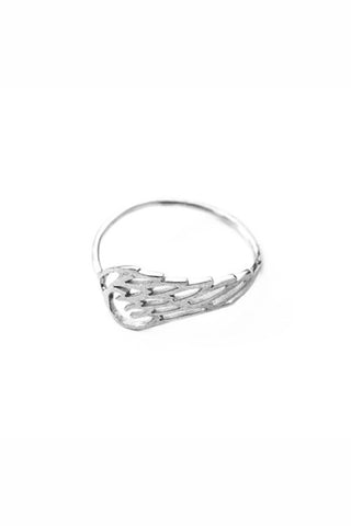 PETITE GRAND ISIS WING RING available in STERLING SILVER Petite Grand is available in Brisbane Queensland Australia at Violent Green Albert Street store