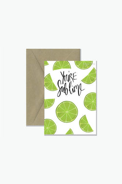 ROSIE LOU You're Sublime Greeting Card