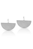 Petite Grand Young Moon Earrings Silver