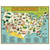 National Park Map Vintage Puzzle