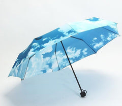 Sky Blue Umbrella