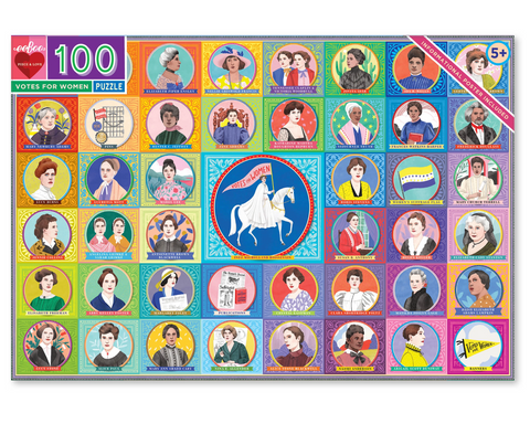 Votes for Women rectangular 100 piece puzzle