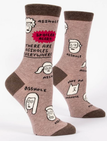 There are a$$holes everywhere / W CREW SOCKS