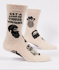 GET A LOAD OF THESE WHISKERS / M-CREW SOCKS