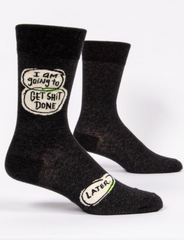 Get stuff done / M CREW SOCKS