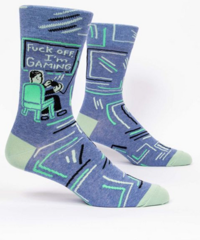 I'm Gaming  / M CREW SOCKS