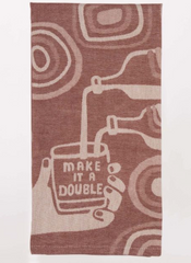 Make it a double/ dish towel