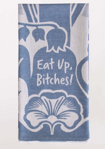 Eat Up / dish towel