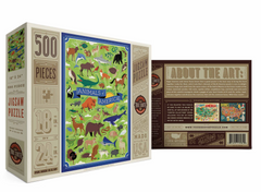 Animals of North America puzzle