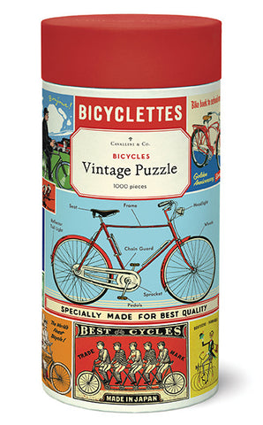 Bicycles Vintage  Puzzle
