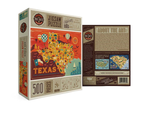 Texas state puzzle