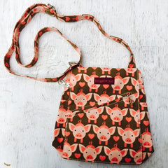 Piggy Messenger Bag