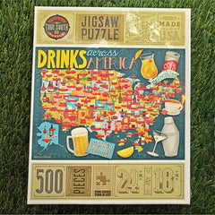 Drinks Across America puzzle