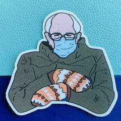 We love Bernie Sticker