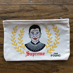 Ruth Bader Ginsberg Pouch