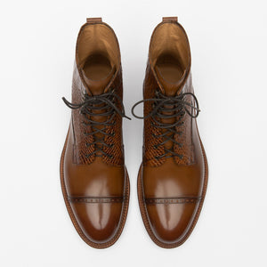 The Irwin Boot in Cognac
