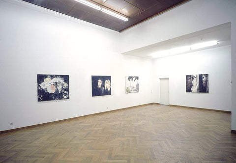 Enoc Perez, The Secret, Installation view, 2001, Galerie Michael Janssen, Cologne