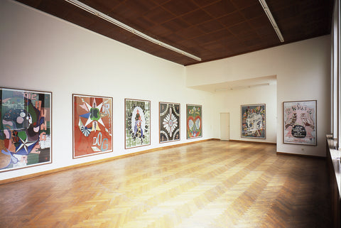 Gert & Uwe Tobias, Come and see before the Tourists will do - The Mystery of Transylvania, Installation view, 2005, Galerie Michael Janssen, Cologne