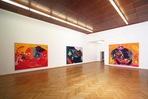 Eric and Heather ChanSchatz, In Situ, Installation view, 2007, Galerie Michael Janssen, Cologne